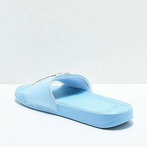 675fb44e58da Ripndip Shoes - RIPNDIP Lord Nermal Light Blue Slide Sandals Men s